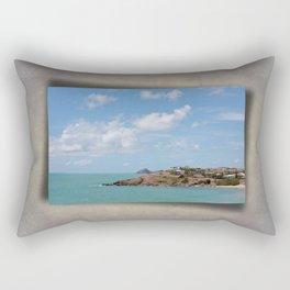 Beautiful Coastal View Rectangular Pillow