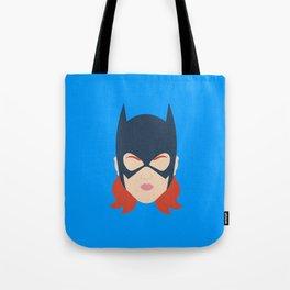 Batgirl Minimalist Design Tote Bag