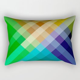 Rainbow of colors 2 Rectangular Pillow