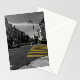 Street of San Francisco Stationery Cards