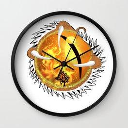 Copperhead Dragon's Eye Wall Clock