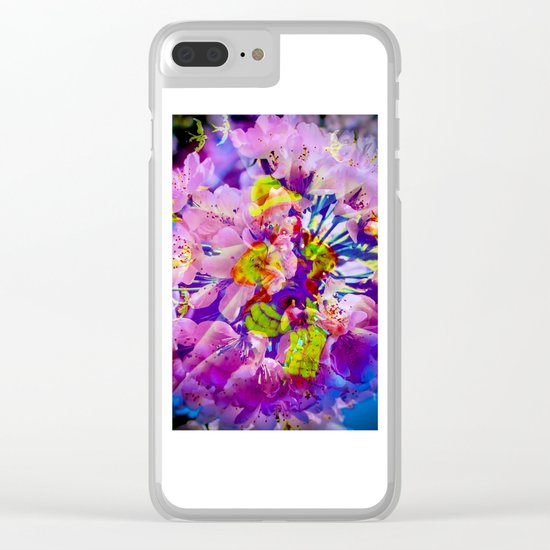 flowers magic Clear iPhone Case