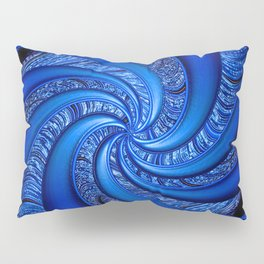 Twisted in Blue... Pillow Sham
