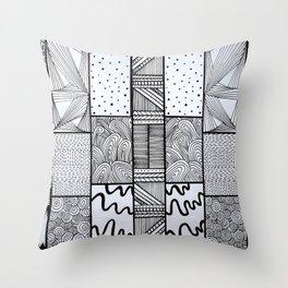Pattern #9 Throw Pillow