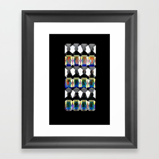 Aurora Armor Framed Art Print