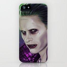 Joker (Jared leto) iPhone Case