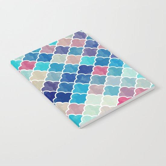 Watercolor Lovely Pattern VVXV Notebook