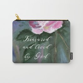 Treasured and Loved by God Carry-All Pouch