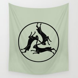 Three Hares Wall Tapestry