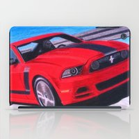 boss iPad Cases featuring Boss by Brian David