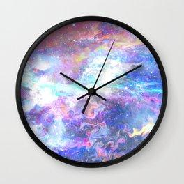 Liquid space Wall Clock