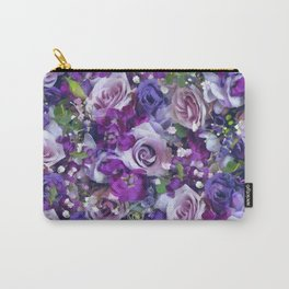Romantic flowers III Carry-All Pouch
