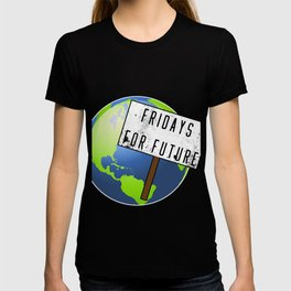 Fridays For Future Stop Climate Change Save Gift T-shirt