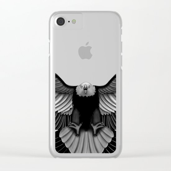 Eagle Clear iPhone Case