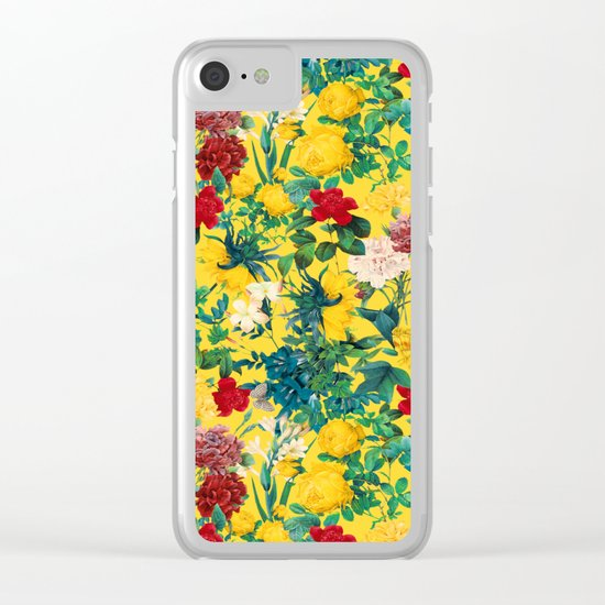 Fertile Forest Clear iPhone Case