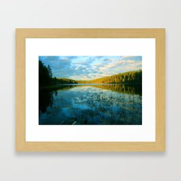 Earth, Water and Air Framed Art Print