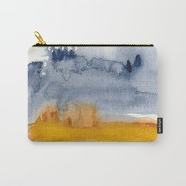 Abstract Expressionism Earth and Sky Carry-All Pouch