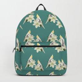 Pied Cockatiel Backpack