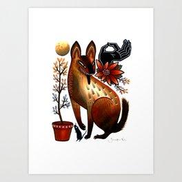 Autumn Desert Art Print