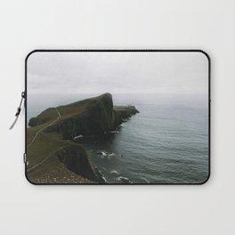 Neist Point Lighthouse II - Landscape Photography Laptop Sleeve