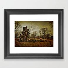 Stump Framed Art Print