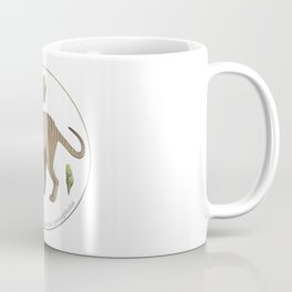 Thylacinus cynocephalus with atlantisite Coffee Mug