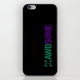 AWDSOME v6 HQvector iPhone Skin