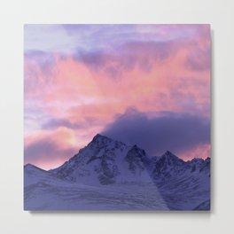Rose Serenity Sunrise III Metal Print