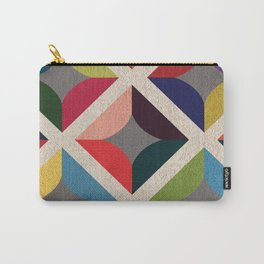 Colourful Geometric Carry-All Pouch