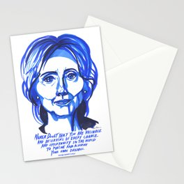 Hillary Rodham Clinton Stationery Cards