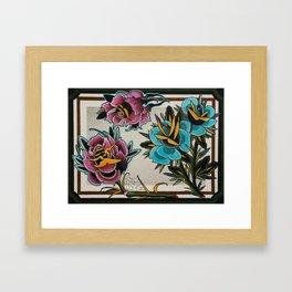 colab Framed Art Print