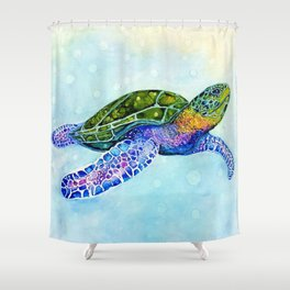 Southern Passage Shower Curtain