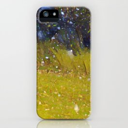 Snow in October iPhone Case