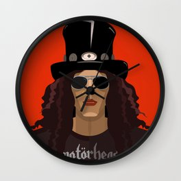 Slash digital poster Wall Clock