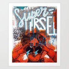 Superursel Art Print