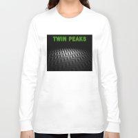 twin peaks Long Sleeve T-shirts featuring Twin Peaks  by Spyck
