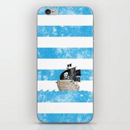 Pirates Love Stripes iPhone Skin