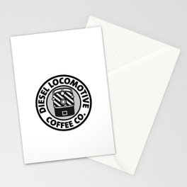 Diesel Locomotive Coffee Co. Stationery Cards