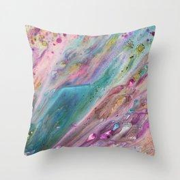 Euphoric Flow Throw Pillow