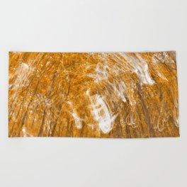 Golden Banshee Forest Beach Towel
