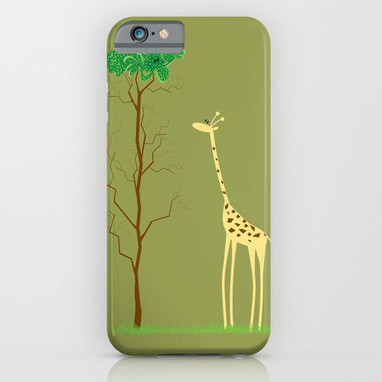 tree v giraffe iPhone & iPod Case