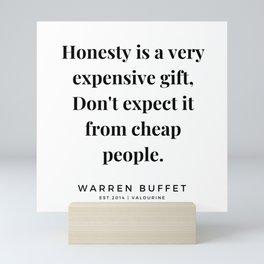 1    Warren Buffett Quotes   190823 Mini Art Print