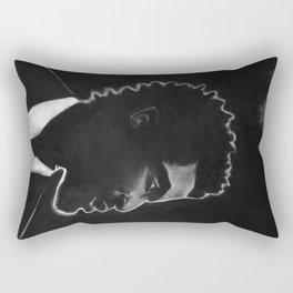 Black Man Rectangular Pillow