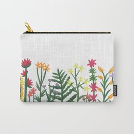 Painted Wildflowers Carry-All Pouch