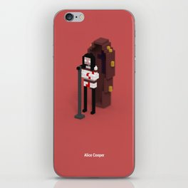 Voxel Alice Cooper iPhone Skin