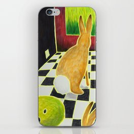 Bongo Bunnies in the Basement with a Bowling Ball iPhone Skin