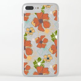 Poppy Bash 2 Clear iPhone Case