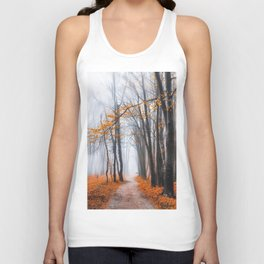 Misty road Unisex Tank Top