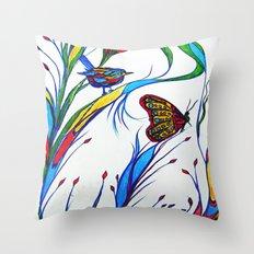 Sweet Nature Throw Pillow