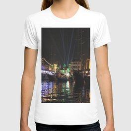 Marmaris Marina Nightscape T-shirt